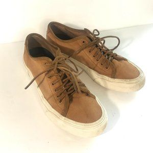 FRYE Ludlow Canvas Low Sneakers Shoes Lace-Up 10